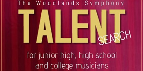 The Woodlands Symphony Talent Search 2021 tickets