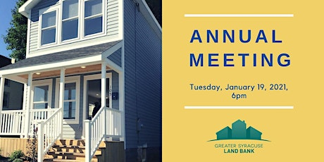 Greater Syracuse Land Bank Annual Meeting tickets