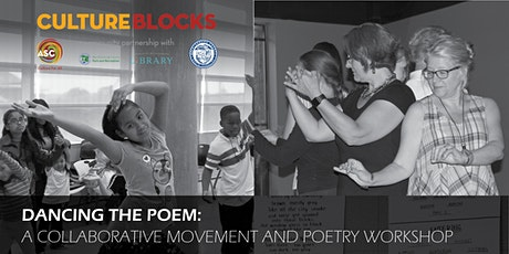Dancing the Poem: A Virtual  movement and poetry workshop: Ages 13 and up tickets