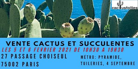 Vente de Cactus et Succulentes Paris 75002 billets
