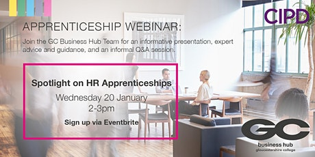Gloucestershire College - HR Apprenticeships Webinar for Employers tickets