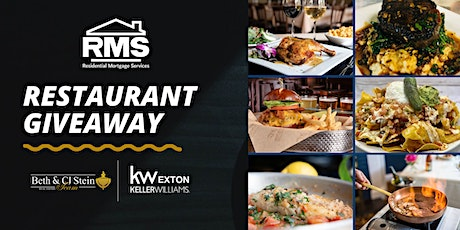 Local Restaurant GIFT CARD Giveaway! tickets