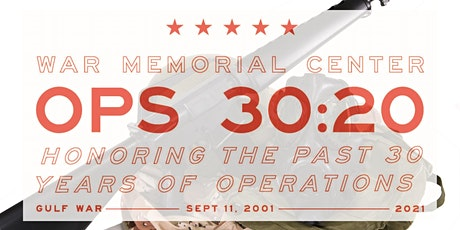 Desert Storm at 30: Continuing to Serve tickets