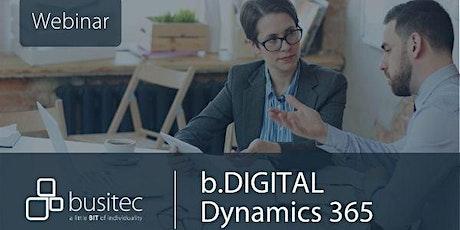 Digitalisierung im Vertrieb mit Dynamics 365 Tickets