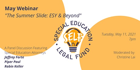 The Summer Slide: ESY & Beyond tickets
