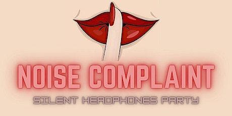 Noise Complaint tickets