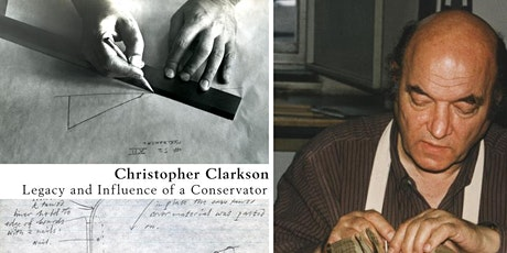 """""""Christopher Clarkson: Legacy and Influence of a Conservator"""" JPC Launch tickets"""