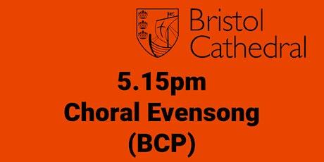 Choral Evensong (Fri 15 Jan) tickets