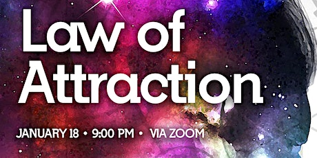 Law of Attraction via Zoom tickets