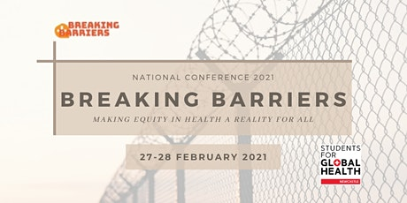 SfGH National Conference 2021: Breaking Barriers tickets
