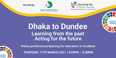 Dhaka to Dundee tickets