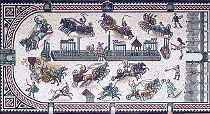 Colchester Archaeology Talks: Roman Life - Chariot Racing image