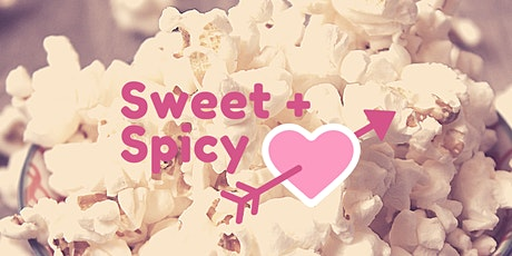 Sweet and Spicy Popcorn for V-Day tickets