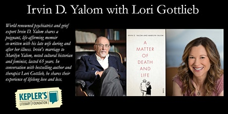 Irvin D. Yalom with Lori Gottlieb billets
