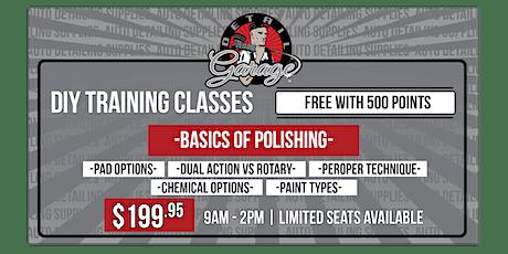 Basics of Polishing - DIY Class tickets