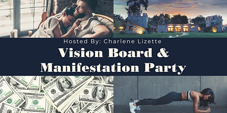 VISION BOARD CREATION & COLLECTIVE MANIFESTATION tickets