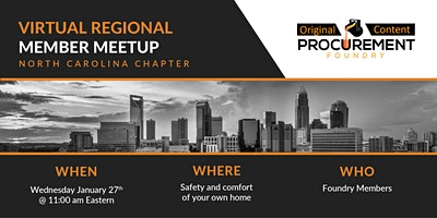 Virtual Member Meetup North Carolina