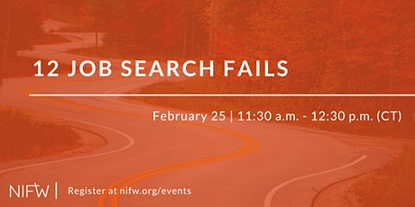 12 Job Search Fails // February 25 tickets