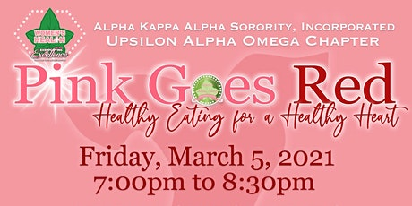 Pink Goes Red - Healthy Eating for a Healthy Heart tickets