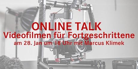 Online Talk im Store Tickets