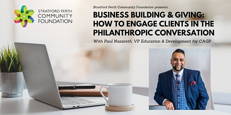 Building Business & Giving With Paul Nazareth tickets