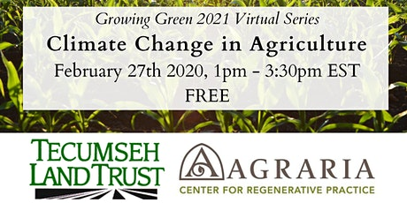 Climate Change in Ohio Agriculture tickets