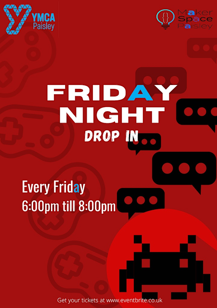 Friday Night Drop In (Ages 8-11 & 12-17) image