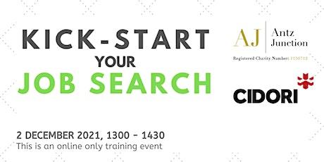 Kick-Start Your Job Search (2 December 2021) tickets
