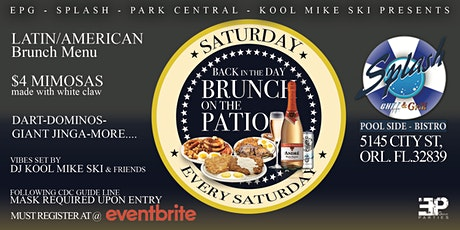 Back in the day BRUNCH tickets