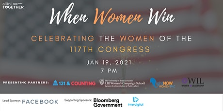 When Women Win: Celebrating the Women of the 117th Congress tickets