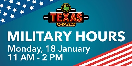 Texas Roadhouse Military Hours tickets