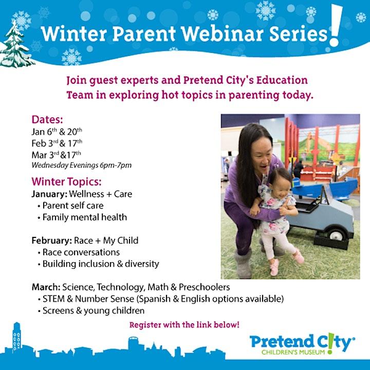 Pretend City's Free Winter Parent Webinar Series image