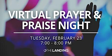 Virtual Prayer & Praise Night tickets