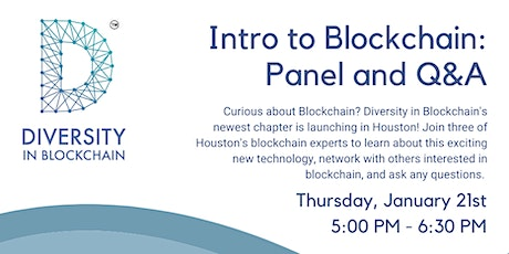Introduction to Blockchain: Panel & Q&A tickets
