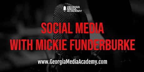 "Social Media for Creatives with Makisha ""Mickie"" Funderburke tickets"