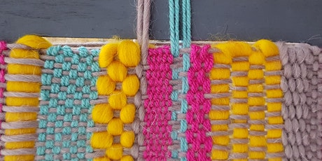 Mini Woven Wall Art with Agnis Smallwood tickets