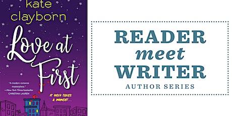 Reader Meet Writer   Kate Clayborn tickets