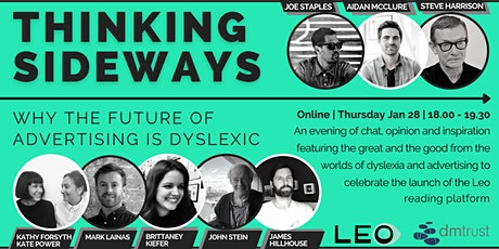 Thinking Sideways: Why the Future of Advertising is Dyslexic tickets