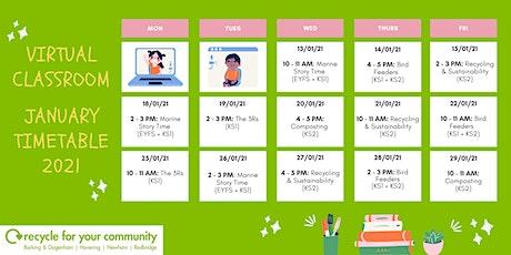 Virtual Classroom- Recycling & Sustainability tickets