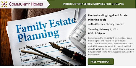 Understanding Legal and Estate Planning Tools with Christy Ibrahim tickets