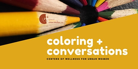 Coloring and Conversations tickets