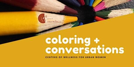 Coloring and Conversations biglietti