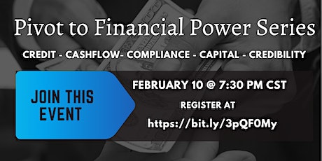 Pivot to Financial Power Series tickets
