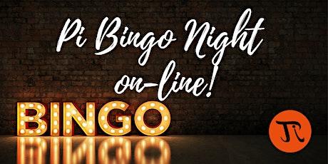 Pi Singles On-line Bingo Night with Prizes! tickets