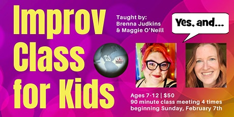 Improv Classes for Kids! Tickets