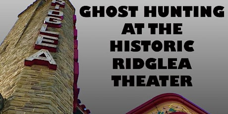 A Night of Ghost Hunting tickets