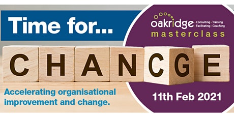 Bring It On 2021! Accelerating Organisational Improvement and Change tickets