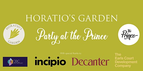 Horatio's Garden: Party at The Prince tickets