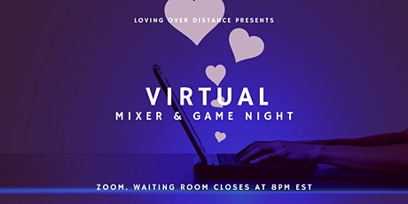 Virtual Mixer & Game Night tickets