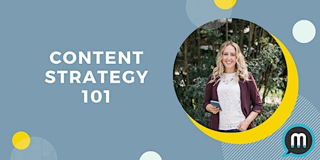 Content Strategy 101 tickets